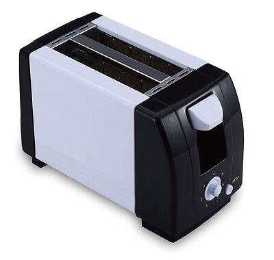 2 x Scheiben-Toaster 750W inkl. Krümelfach Röster Toast Sandwich