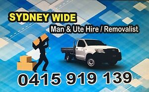CHEAP!!! Sydney  Man And Ute Hire And Removals Sydney Region Preview