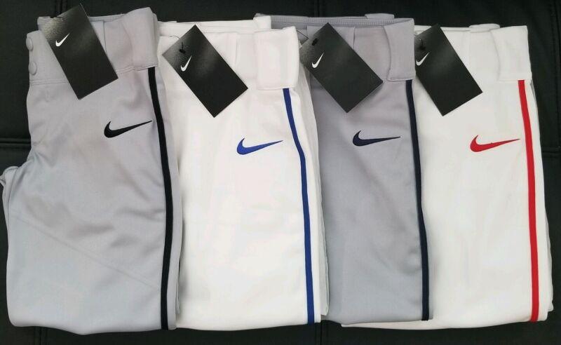 NEW Nike Vapor Pro Baseball / Softball Pants Piped  Select  your Size/Color