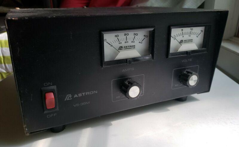 Astron VS-35M Adjustable Linear Power Supply Amateur Ham Radio
