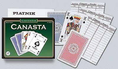 Canasta Double Deck Bridge Size Playing Cards by Piatnik