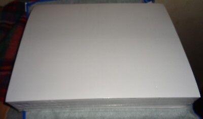 White Blank Printable Sticker Paper 8.5 X 11 Inkjet Laser 50100250