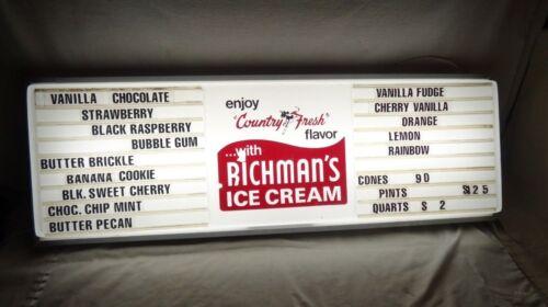 Large Vintage Original Richman
