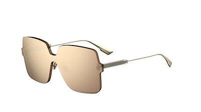 Authentic Christian Dior Color Quake 1 DDBSQ Gold Copper Sunglasses