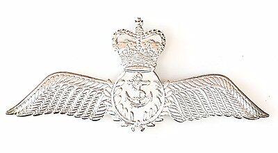Königliche Marine Pilot Flügel Militär Sweetheart Silber Gefertigt Anstecker Marine-pilot