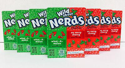 Wonka Nerds (Wonka Nerds Wild Cherry and Watermelon 7 Packs FREE)