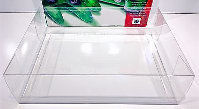 1 Clear Console Box Protector N64 FUNTASTIC SIZES ONLY!Please Read!  Nintendo 64