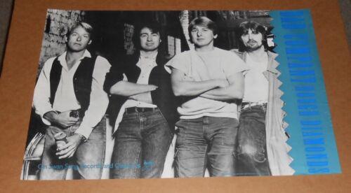 Bad Company Rough Diamonds Promotional Poster RARE 20x30 English Rock