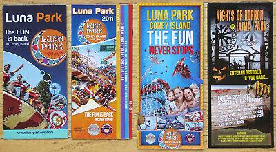 Luna Park Halloween (CONEY ISLAND ~ LUNA PARK BROCHURE ~ (3) - 2010-2011-2012 + HALLOWEEN)