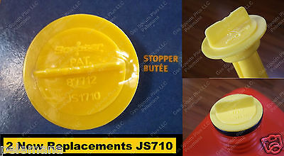 2 Scepter Stopper Cap Disk Js1710 710 New Repl. Gas Gallon Can Disc Part Moeller