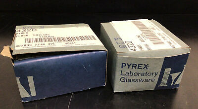3 New Pyrex 100ml Boiling Flask Round Bottom 2440 Joint No. 4320