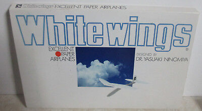 1980 White Wings Excellent Paper Airplanes By Dr. Yasuaki Ninomiya