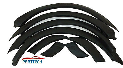 FORD TRANSIT MK7 06-13 ABS Platic Wheel Arches Fender Flares - Matte Black 8pcs