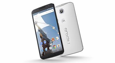 "NEW Nexus 6 XT1103 32GB 4GLTE Unlocked Global GSM phone 6"" AMOLED QuadCore white"