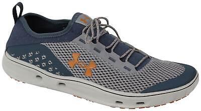 Under Armour Kilchis Shoe - Steel / Mechanic Blue / Rodeo Orange - New