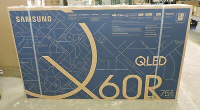 """Samsung QN75Q60R 75"""" QLED 4K Smart TV with Bixby Intelligent Voice Assistant"""
