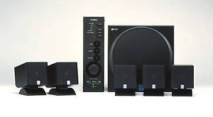 Yamaha TSS-1 5.1 Dolby DTS Pro Logic Computer Speakers Optical Cabramatta Fairfield Area Preview