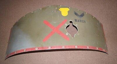 HARRIER GR3 AIRCRAFT WATER TANK ACCESS PANEL