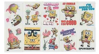 Spongebob Tattoos (10 Large SpongeBob Vending Tattoos ( On 2.5