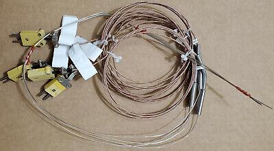Thermocouple J Temperature Sensor Wire Probe Alltemp Wika Uop-028-k-24