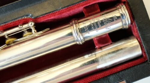 Altus A1007 RBE 958 / 925 Silver Professional Flute - Preowned