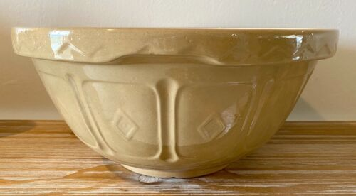 Vintage Mason Cash & Co. Church Gresley Large Mixing Bowl Made In England.