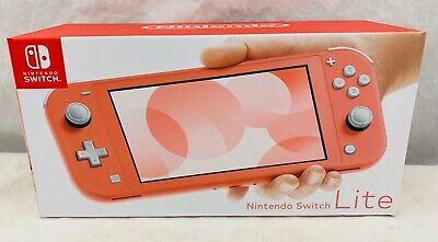 Nintendo Switch Lite Coral Color New in Box Fast Shipping In Hand