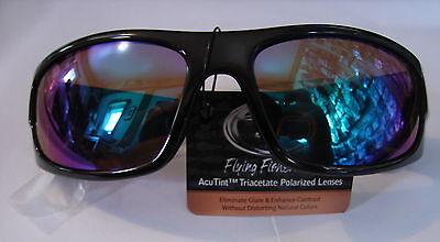 53977c4386 Flying Fisherman polarized Cape Horn Sunglasses Tortoise Amber Green Mirror  Lens