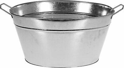 Zinkwanne - Champagnerschale 18 Liter - Champagnerkühler Sektkühler Eiskübel