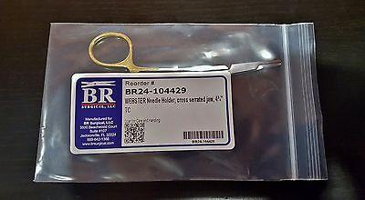 Br Surgical Br24-104429 Webster Needle Holder