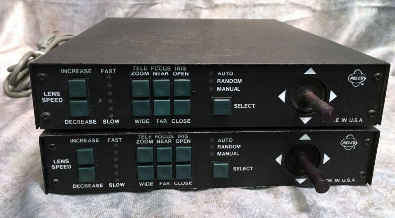 MPTAZ115DT Desktop Joystick from Pelco integrates pan/tilt, scanner & ZOOM