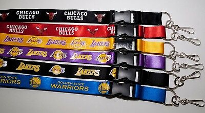 Los Angeles Lakers Lanyard NBA Chicago Bulls Golden State Warriors Lanyard - Bulls Nba