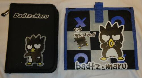 VTG 90s SANRIO BAD BADTZ MARU Hello Kitty Organizer and Planner Lot