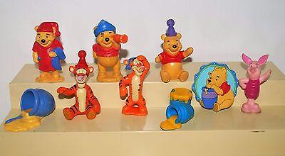 Walt Disney's Winnie-The-Pooh Bear Nine PVC figurines and Accessories Used - Tigger Accessories