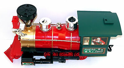 LOCOMOTIVE from North Pole Express Christmas Train Set EZTEC 37198 G - NO REMOTE