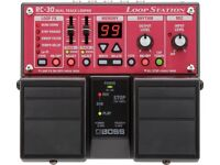 BOSS RC-30 Duel Track Loop Station Guitar Effects Pedal New In Box
