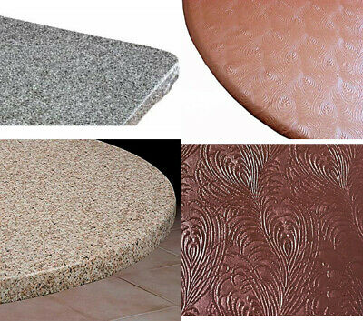 Table Cover Elasticized Elastic Granite Round Oblong Indoor Outdoor Fabric Back](Vinyl Table Covers)