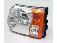 LAND ROVER DISCOVERY 3 PASSENGER / LEFT SIDE HEADLIGHT HEADLAMP