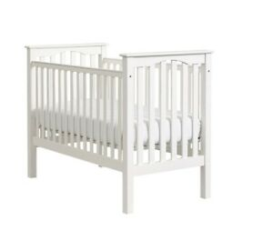 Crib, mattress and bedding all pottery barn kids!