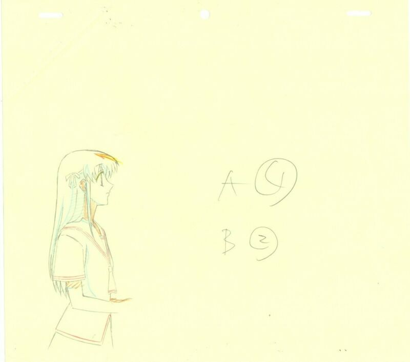 Anime Genga not Cel Fruits Basket 3 pages #81