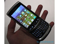 blackberry 9800 touch screen slider wifi open to any network