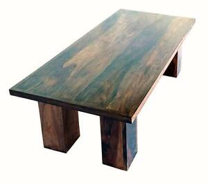 Rectangular Coffee Table With Pillar Style Legs Pooraka Salisbury Area Preview