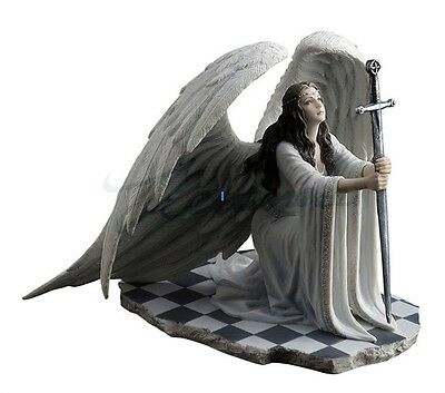 Anne Stokes The Blessing Gothic Woman Guardian Angel Figurine Statue