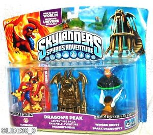 SKYLANDERS-SPYROS-ADVENTURE-SUNBURN-DRAGONS-PEAK-WINGER-BOOTS-SPARX-DRAGONFLY