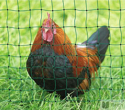 1,72 €/m Hühnerzaun Geflügelzaun Geflügelnetz 112 cm x 50m Einzspitze ohne Strom