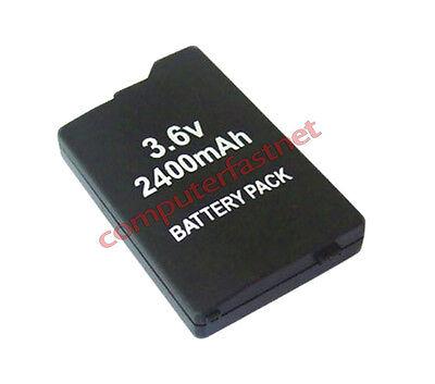 BATTERIA LITIO BATTERY PACK LITHIUM 2400MAH PSP 2000 2004 3000 3004 SLIM E LITE