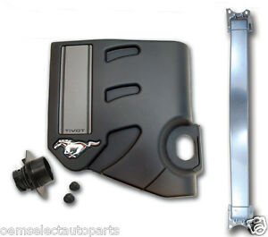 NEW OEM 2011-2014 Mustang V6 Performance Pack- Strut Tower Brace, Engine Cover