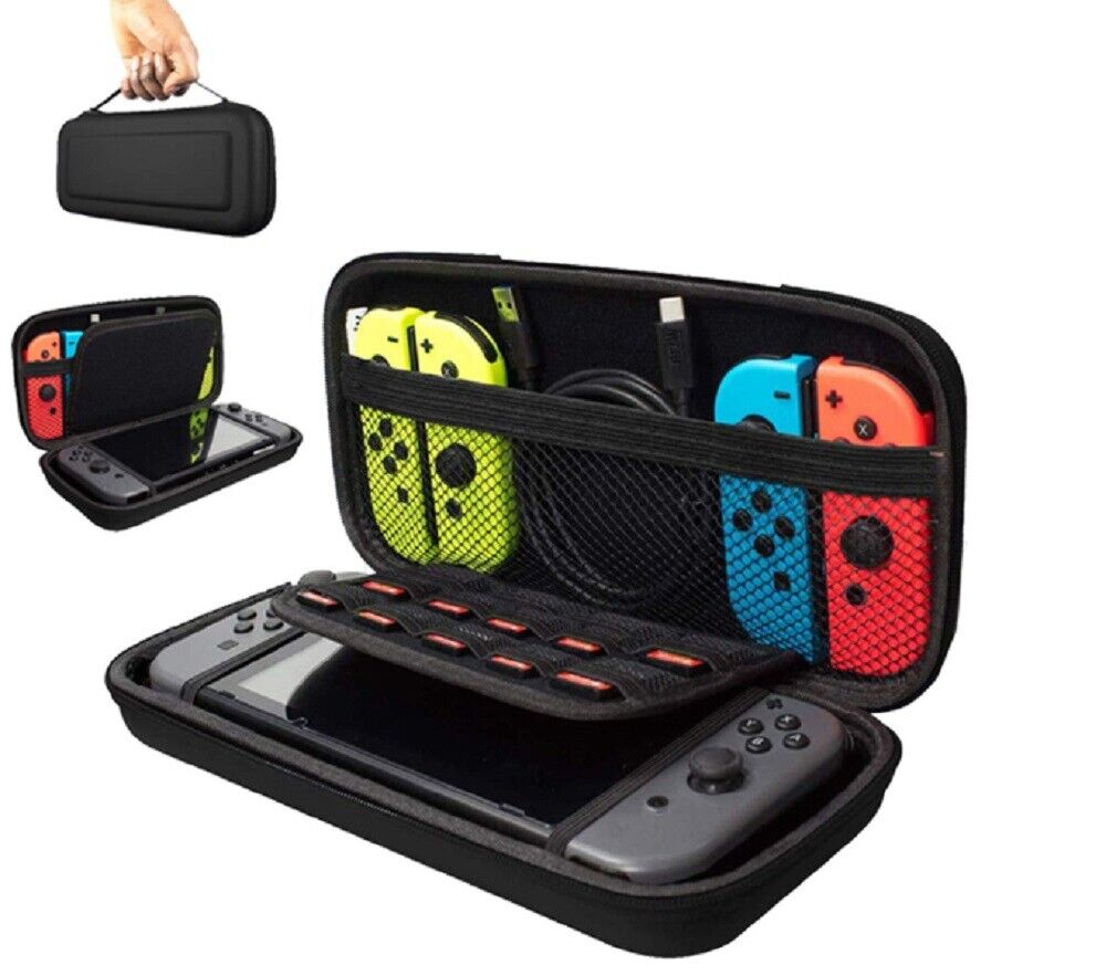 For Nintendo Switch Carrying Case Travel Bag Portable Pouch Hard Cover Shell Bags, Skins & Travel Cases