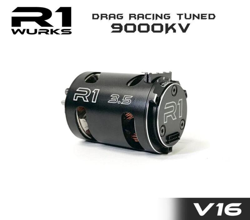 R1 020110  R1 3.5T V16 Drag Racing Tuned 9000kv Motor 020110