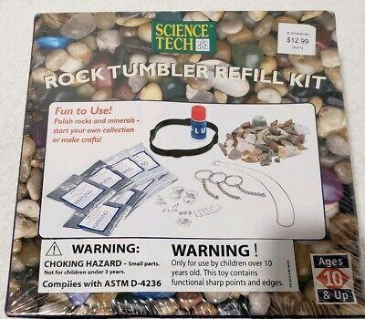 Edu Science Rock Tumbler (Science Tech - Rock Tumbler Refill Kit -)